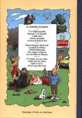 Verso de Radock III -2- Les aventures de Tintouin - Tintouin chez les ricains