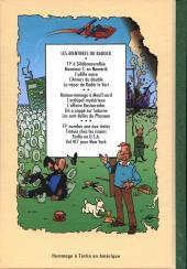 Verso de Radock III -1- Les aventures de T1² - T1² number one aux states