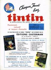 Verso de (Recueil) Tintin (Album du journal - Édition française) -73- Tintin album du journal (n°978 à 990)
