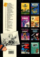 Verso de Spirou et Fantasio -16e89- L'ombre du Z