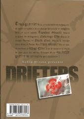 Verso de Drifters -2- Tome 2