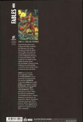 Verso de Fables (avec couverture souple) -15- L'âge des ténèbres