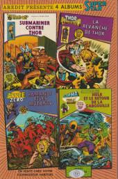 Verso de Conan le barbare (1re série - Aredit - Artima Marvel Color) -2- Le démon de la vallée