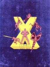 Verso de X-Men (Les étranges) -52- Les X-men et les jeunes Titans