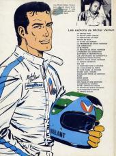 Verso de Michel Vaillant -2c78- Le pilote sans visage