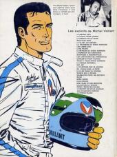 Verso de Michel Vaillant -6d1978- La trahison de Steve Warson