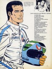 Verso de Michel Vaillant -14c1978- Mach 1 pour Steve Warson