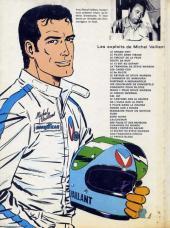 Verso de Michel Vaillant -20f1978- Rodéo sur 2 roues