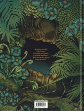 Verso de Alice au pays des singes - Tome 1
