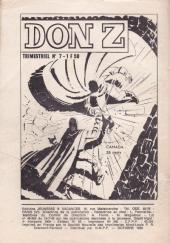 Verso de Archie (Le merveilleux robot) -7- El Lobo