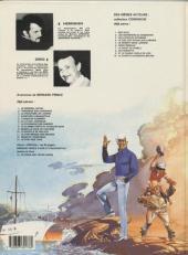 Verso de Bernard Prince -7c1985- La fournaise des damnés