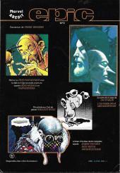 Verso de Conan le barbare (2e série - Arédit - Arédit Marvel Color) -1- La cité sauvage