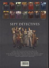 Verso de Sept -13- Sept détectives