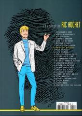 Verso de Ric Hochet - La collection (Hachette) -8- Ric Hochet face au serpent