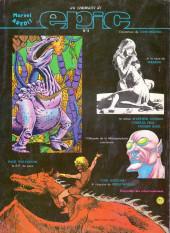 Verso de Conan le barbare (Artima/Aredit 3e série) -1- L'anneau de Rakhamon