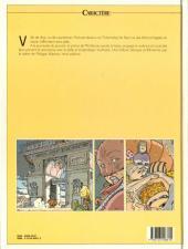 Verso de Les eaux de Mortelune -2a1990- Le café du port