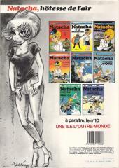 Verso de Natacha -1a1983- Hôtesse de l'air