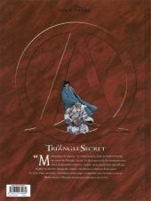 Verso de Le triangle secret -5a11- L'Infâme mensonge