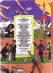 Verso de Tintin - Pastiches, parodies & pirates -19c2011- Tintin et l'alph-art