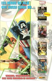 Verso de Marvel Heroes Extra (Marvel France - 2010) -10- Mauvaise graine