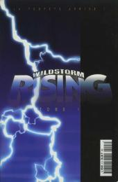 Verso de Image (Collection) -3- Wildstorm Rising Tome 1