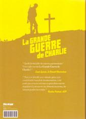 Verso de La grande Guerre de Charlie -2- Volume 2