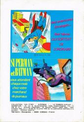 Verso de Superman - Collection BD Story -2- Superman - Le premier exploit de Superman