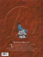 Verso de Le triangle secret -6a08- La Parole perdue
