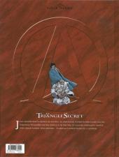 Verso de Le triangle secret -7a09- L'imposteur