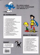 Verso de Les schtroumpfs -12b99- Le bébé schtroumpf