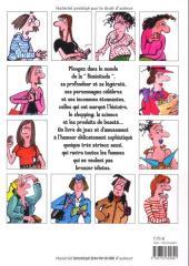 Verso de (AUT) Bretécher - Les super femmes de Bretécher