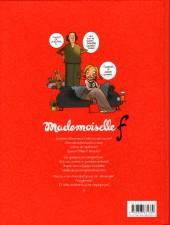 Verso de Mademoiselle F - Tome 1