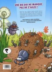 Verso de Les insectes en bande dessinée - Tome 1