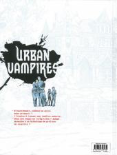 Verso de Urban Vampires -2- Rencontre avec une ombre