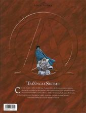 Verso de Le triangle secret -2a10- Le jeune homme au suaire