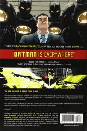 Verso de Batman Incorporated (2011) -INT- Batman Incorporated