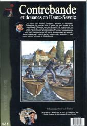 Verso de Fanfoué des Pnottas (Les aventures de) -HS4- Contrebande et douanes en Haute-Savoie