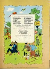 Verso de Tintin (Historique) -3B38bis- Tintin en amérique