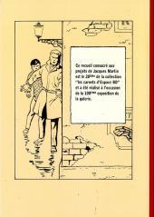 Verso de (AUT) Martin, Jacques -TT- Projets de couvertures