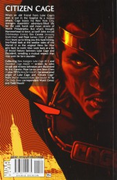 Verso de New Avengers: Luke Cage (2010) -INT- Town Without Pity