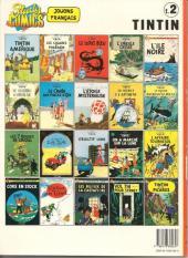 Verso de Tintin (Study Comics - del Prado) -2- Le temple du soleil