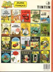 Verso de Tintin (Study Comics - del Prado) -3- Le Crabe aux pinces d'or