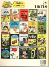 Verso de Tintin (Study Comics - del Prado) -7- Le trésor de Rackham le Rouge