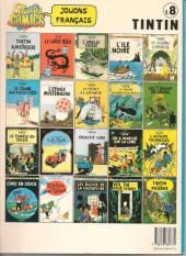 Verso de Tintin (Study Comics - del Prado) -8- Les cigares du pharaon