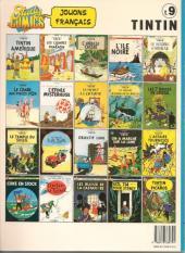 Verso de Tintin (Study Comics - del Prado) -9- Le lotus bleu