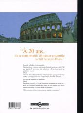 Verso de Une nuit à Rome -1TL- Tome 1