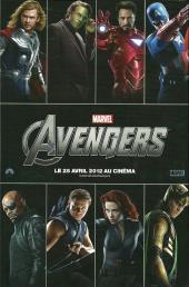 Verso de Avengers Extra (The) -2- Premier coup de tonnerre