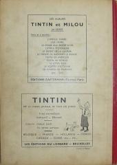 Verso de (Recueil) Tintin (Album du journal - Édition belge) -16- Tome 16