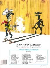 Verso de Lucky Luke -HS02a92- La ballade des dalton