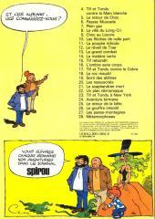 Verso de Tif et Tondu -26a1980- Le gouffre interdit